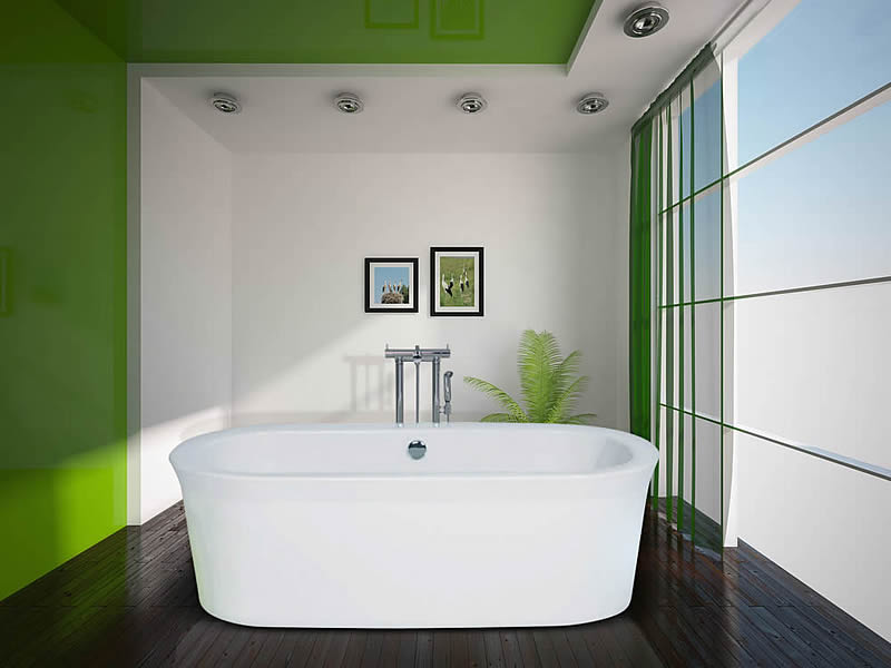 The Artesia double ended free standing bath