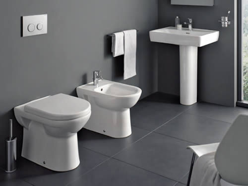Bathroom sanitaryware - WCs, basins, bidets etc.
