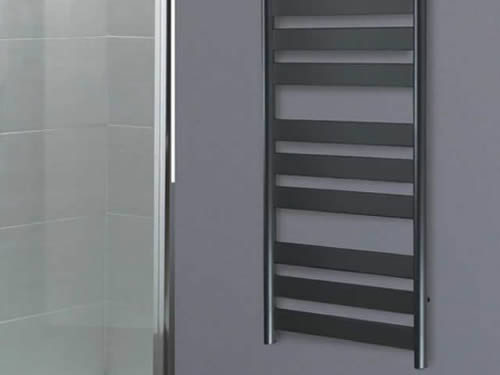 Bathroom heated towel rails