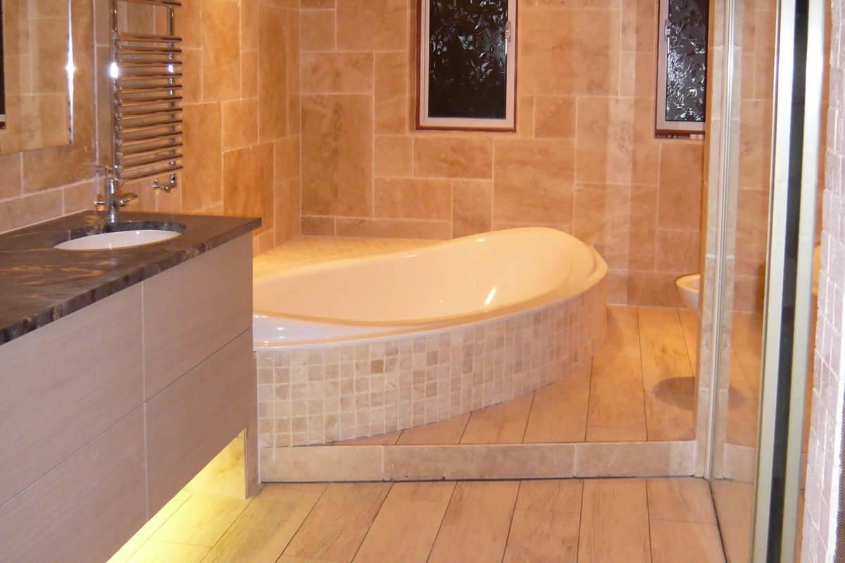 A bespoke double-ended bath