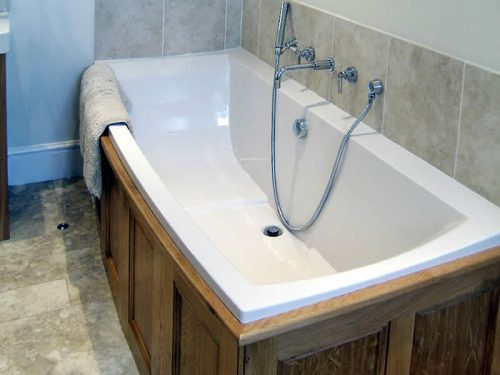 Rectangular Bath Serenity Built In Bath