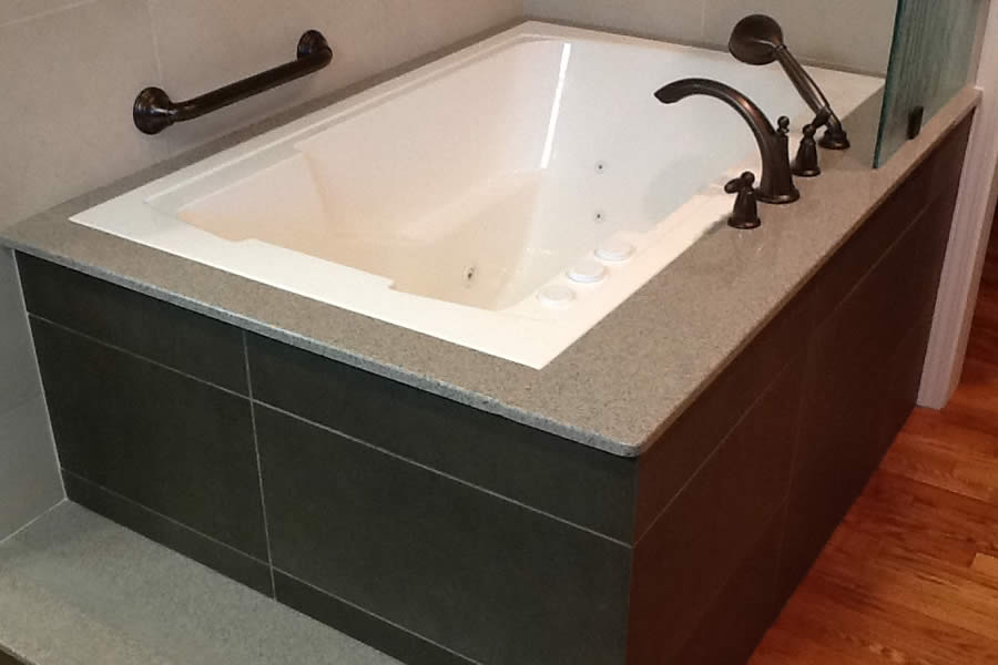 The Nirvana soaking tub with hydrotherapy system, USA