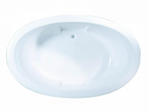 The octavia is a large oval bath