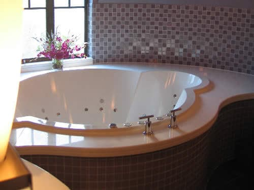 A bespoke luxury bath, designed by Cabuchon.