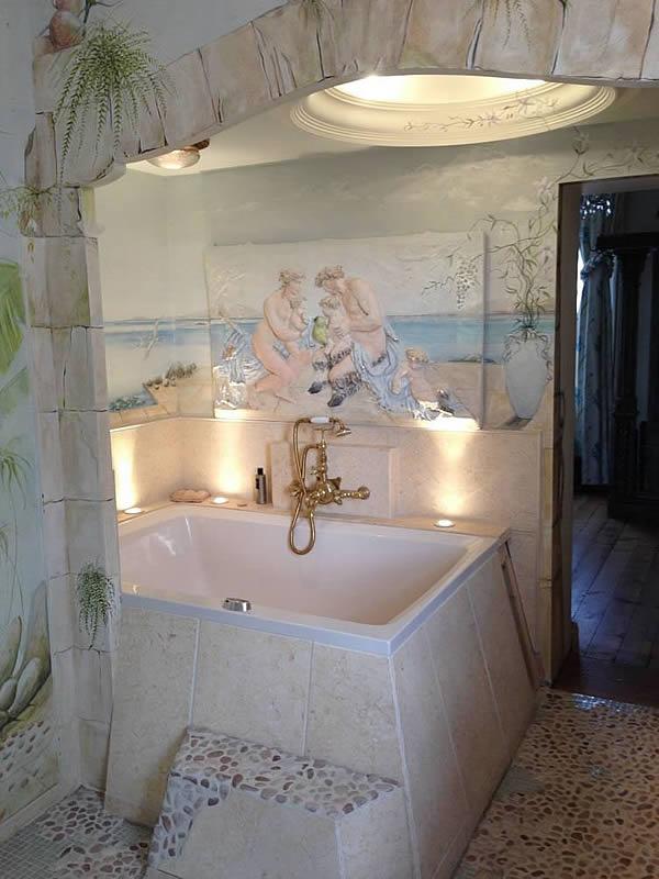 The Xanadu 2-seat deep soaking tub, Chester
