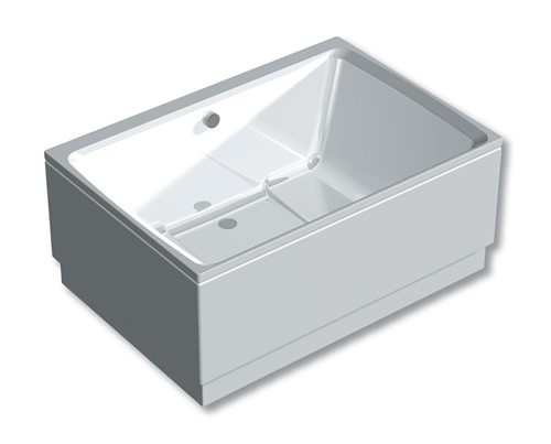 The Xanadu Japanese style soaking tub can be fitted with bespoke panels
